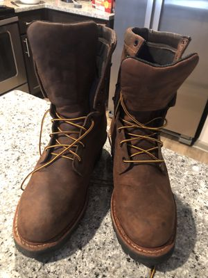 Red Wing men's steel toed Lineman Boots for Sale in Graniteville, SC