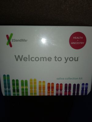 23andMe saliva collection kit for Sale in Antelope, CA