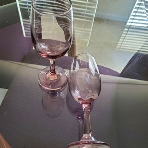 2 Purple Glasses for Sale in West Palm Beach, FL