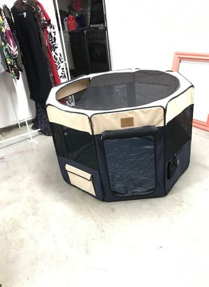 Portable dog crate small to medium dog for Sale in Menifee, CA