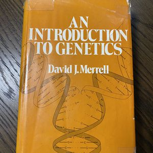 An Introduction To Genetics by David J Merrell for Sale in Fountain Valley, CA