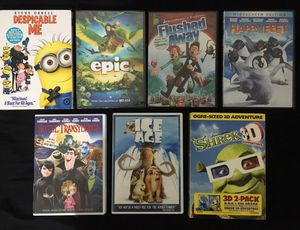 Kids Animated Movies DVD DreamWorks Universal for Sale in Belle Isle, FL