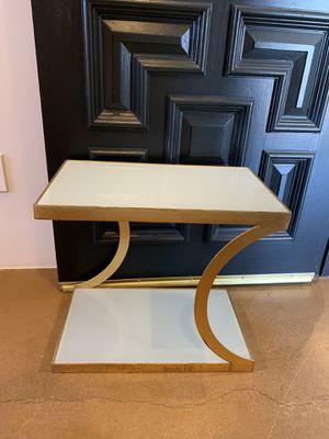 Antique glass side table for Sale in Phoenix, AZ