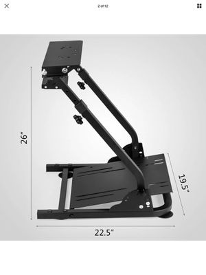 PS4 racing simulator steering wheel stand for t300rs, g27, g29, g920 for Sale in San Dimas, CA