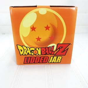 New Anime Dragonball Z 4 Star lidded orange cookie jar Collectible Dragon Ball for Sale in Annandale, VA