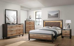 Pierre Brrown LED Panel Bedroom Set for Sale in Arlington, VA