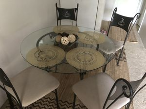 Dining table with four chairs for Sale in SeaTac, WA