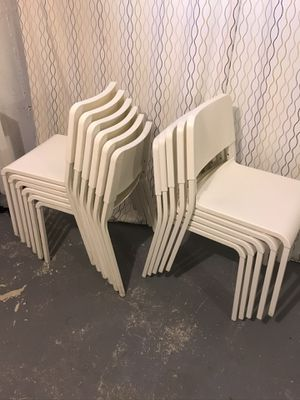 IKEA Original white Chairs and Dining Tables for Sale in Worcester, MA