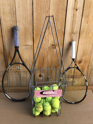tennis rackets and balls for Sale in Lynnwood, WA