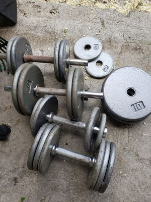 Dumbbell Weights - PENDING PICKUP for Sale in Kent, WA