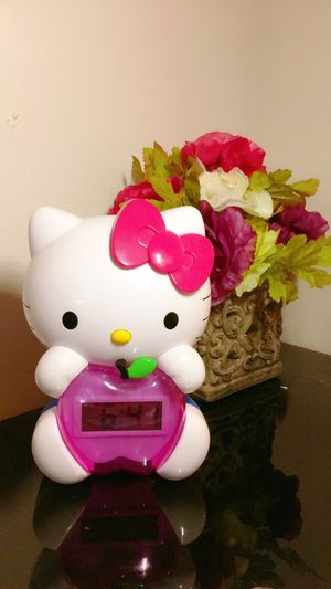 Hello Kitty LCD Alarm Clock for Sale in Bothell, WA