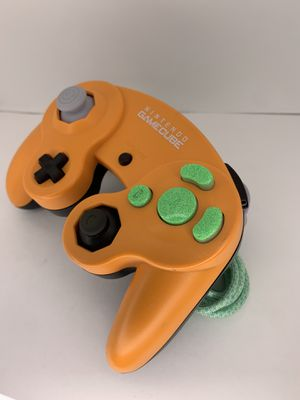 """""""Pumpkin"""" Custom Nintendo GameCube Controller (Additional Mods Available) for Sale in Chicago, IL"""