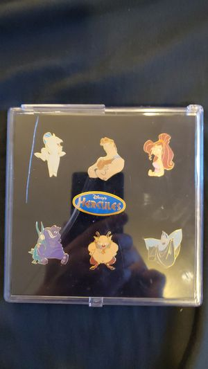 Complete 90's Hercules pins for Sale in Elizabeth, PA