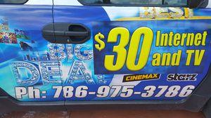 4tv premiun channels internet for Sale in Hialeah, FL