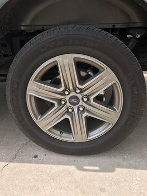 Ford Factory 20 in Rims and Michelin Tires for Sale in Land O Lakes, FL