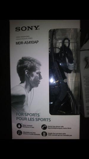 Sony - AS410AP Sport In-Ear Headphones for Sale in Salt Lake City, UT