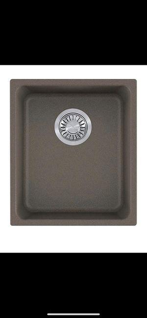 """Franke Kubus 15"""" Granite Kitchen Sink KBG11013STO 15"""" W x 17-3/8"""" L for Sale in Tacoma, WA"""
