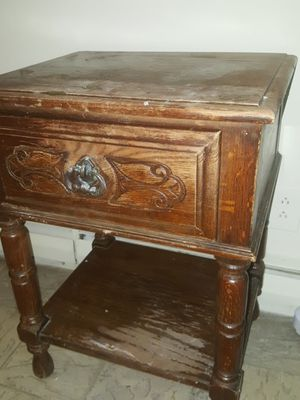 Old wooden furniture for Sale in Charlotte, NC