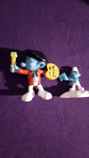 Smurf toys figures Marked & numbered for Sale in Tallahassee, FL