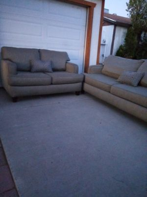 Sofa 2 pieces clean for Sale in Phoenix, AZ