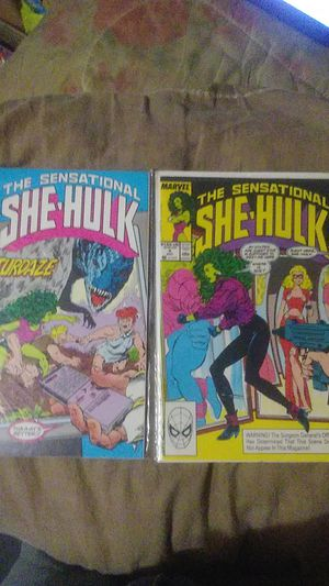She Hulk #4 #5 Lot of 2 Books ..90s for Sale in Amory, MS