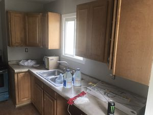Kitchen Cabinets and Sink for Sale in Homer Glen, IL