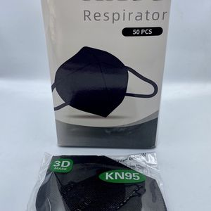 Adult Disposable Face Masks 😷 - Black - 50 Pieces for Sale in Downey, CA