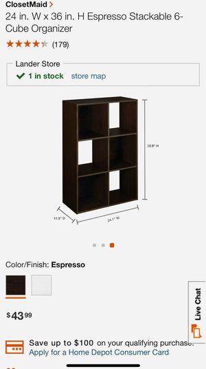 Cube Bookshelf / Organizer / Shelf for Sale in Seattle, WA