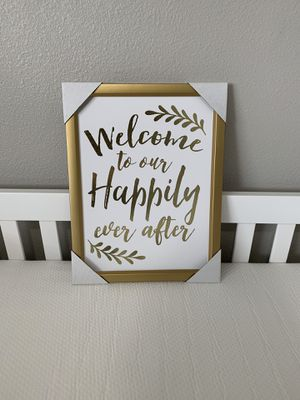 Happily ever after frame NEW for Sale in Bloomington, CA