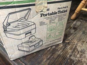 Sears Portable Toilet New In Box for Sale in Sumner, WA