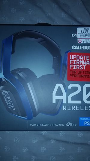 Ps4/pc A20 wireless gaming headphones for Sale in Brooklyn Park, MD