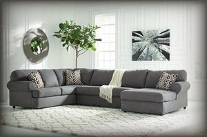 Grey sectional for Sale in NEW CARROLLTN, MD