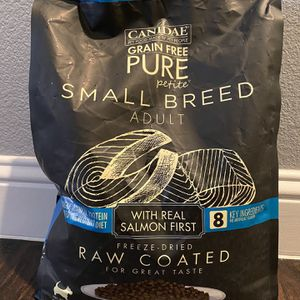 Canidae Brand 10 LB Grain Feee Small Breed Adult Dog Food for Sale in Frisco, TX