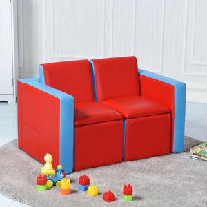 Multi-Functional Kids Sofa Table Chair Set for Sale in Chino, CA