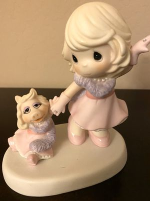 "Original 2015 Porcelain Precious Moments W/ Muppets Miss Piggy ""Our Friendship Is Fabulous"" Figurine for Sale in Surprise, AZ"