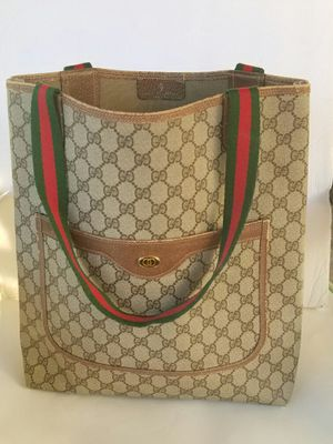 Authentic vintage Gucci tote handbag for Sale in Arlington, TX