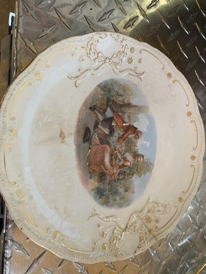 Antique Owens Minerva commemorative plate available for pick up for Sale in Hayward, CA