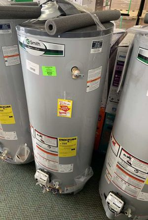WATER HEATERS AO SMITH LIQUIDATION SALE 49 gallon-75 gallon (prices start at $330) LM for Sale in Addison, TX
