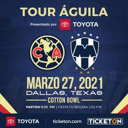 Club America vs Monterrey En Dallas, TX for Sale in Garland,  TX