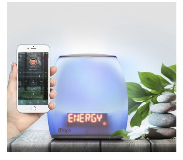 iHome Zenergy Beside Sleep Therapy (Sound & Light Alarm Clock)