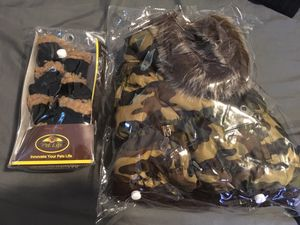 Dog Jacket & Boots for Sale in Wadena, MN