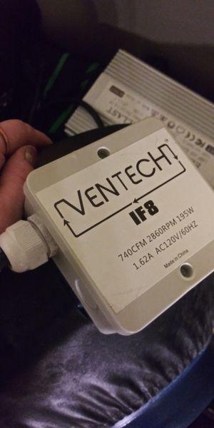 Ventech IF8 INLINE DUCT FAN for Sale in Kent, WA