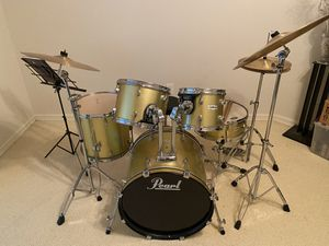PEARL PROTUNE DRUMSET for Sale in Houston, TX