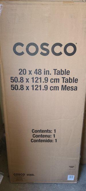 "Cosco 20"" x 48"" Folding Table Black Black for Sale in Las Vegas, NV"