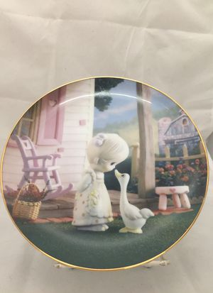 PRECIOUS MOMENTS COLLECTION 'MAKE A JOYFUL NOISE' PLATE for Sale in East Meadow, NY