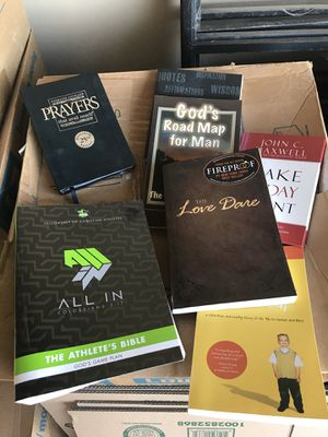 Faith Based Books-all in new condition for Sale in San Angelo, TX