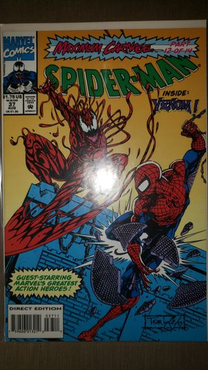 Marvel Comics Spiderman Maximum Carnage #37 for Sale in Chicago, IL