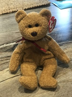 Curly Beanie Babies Bear for Sale in Mount Joy, PA