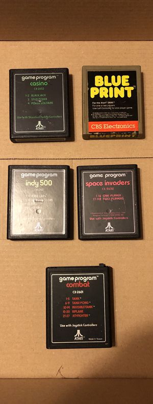 Atari 2800 • Video Games • Retro • Classic • Collectable for Sale in North Lauderdale, FL