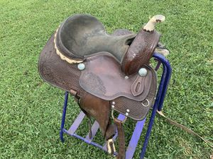 Kids western saddle 13 inch for Sale in Port St. Lucie, FL